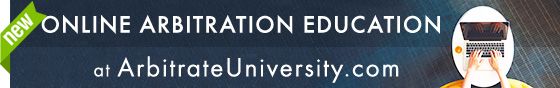 Online Arbitration Education